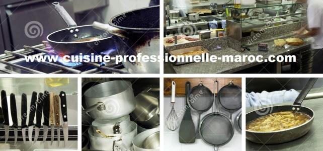 Vente équipement de cuisine pro à Oujda