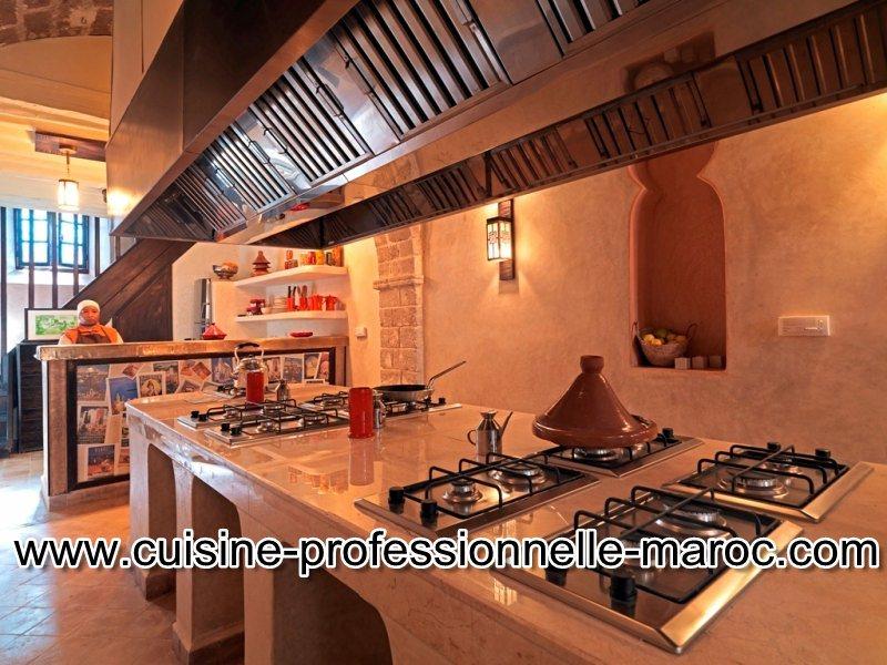 Matériel de cuisine professionnelle au Maroc