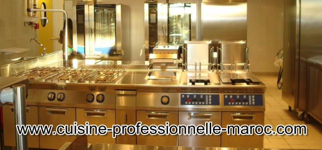 Matériel de restauration et cuisine professionnelle au Maroc