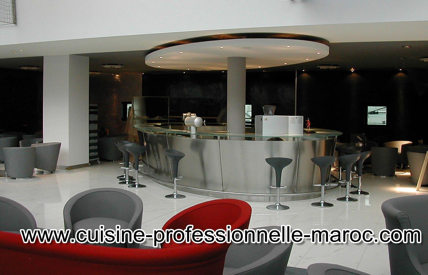 Equipement caf restaurants ou h tel au maroc les for Equipement cuisine