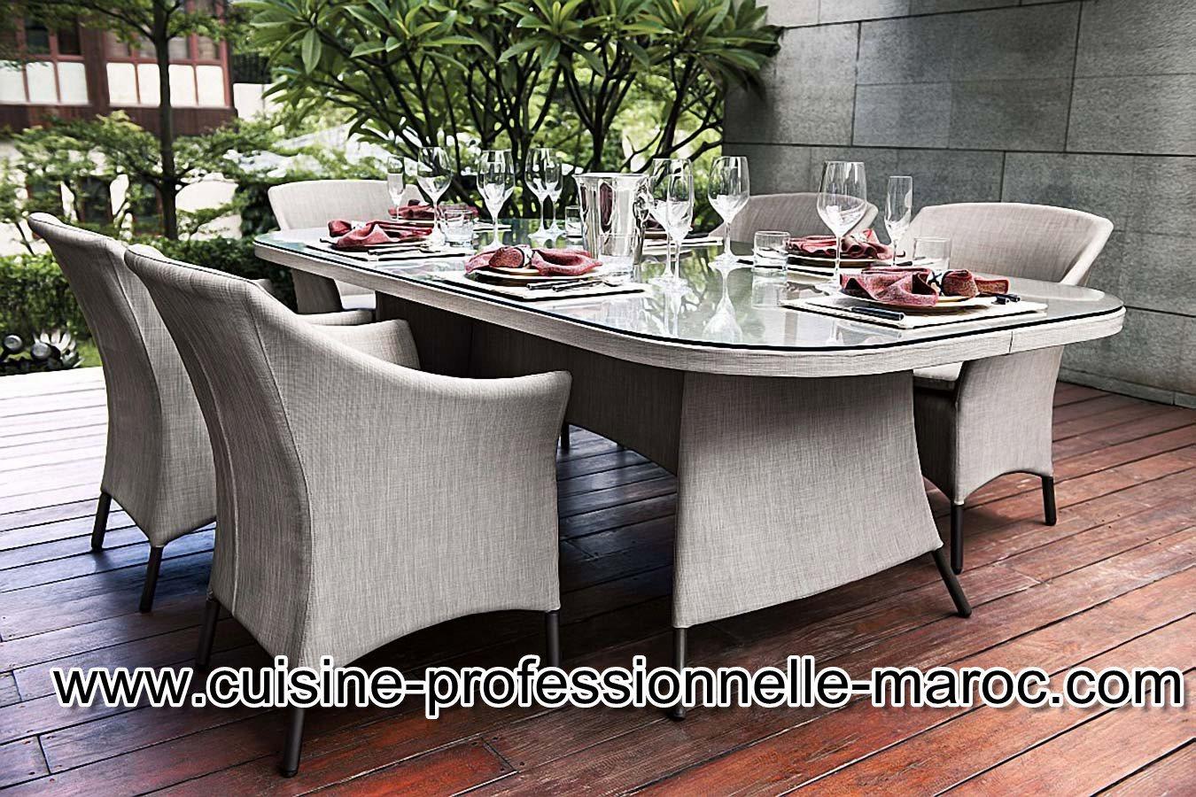 Equipement caf restaurants ou h tel au maroc les for Equipement pour cuisine professionnelle