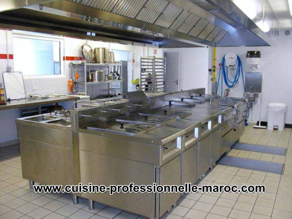 Soci t sp cialis e en cuisine professionnelle quipements et mat riels cuisine - Hotte de cuisine restaurant ...