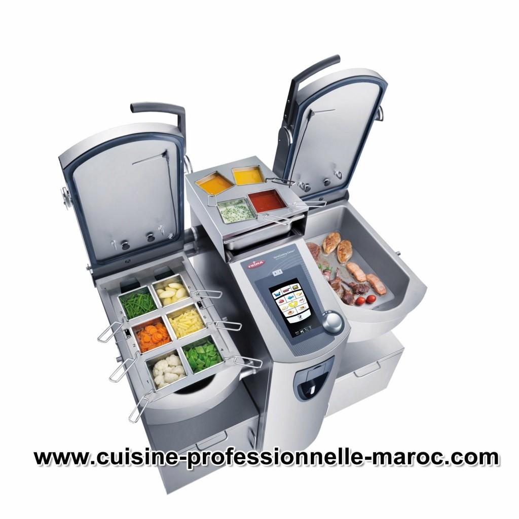 Vente équipements et matériels cuisine pro au Maroc