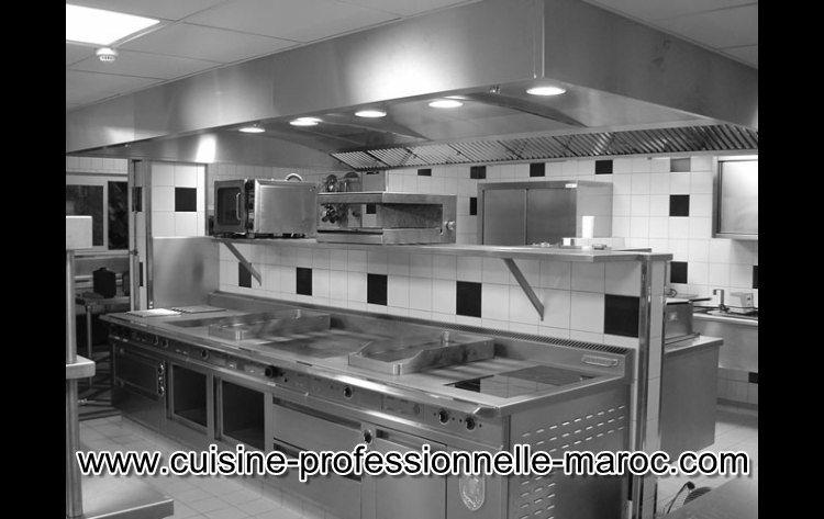 mat riel pour cuisine professionnelle pro inox cuisine professionnelle maroc. Black Bedroom Furniture Sets. Home Design Ideas
